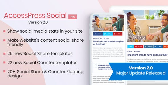 AccessPress Social Pro 2.1.8 - WordPress Plugins