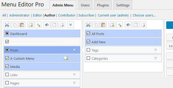 Admin Menu Editor Pro 2.12.2 - WordPress Plugin
