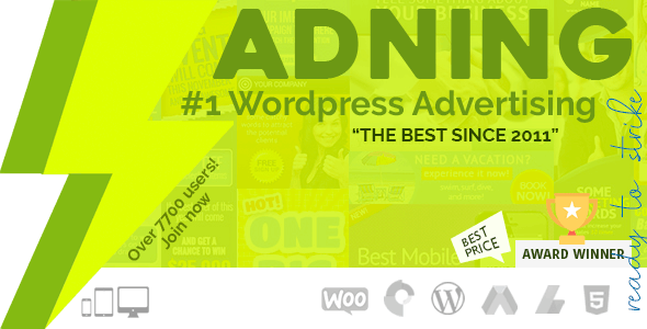 Adning Advertising 1.3.9 (Nulled) - All In One Ad Manager for WordPress