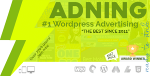 Adning Advertising 1.4.2 (Nulled) - All In One Ad Manager for WordPress