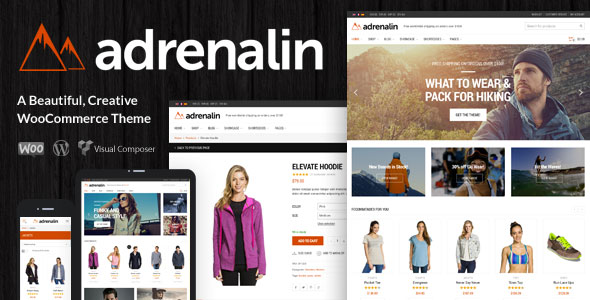 Adrenalin 2.0.8 - Multi-Purpose WooCommerce Theme