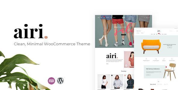 Airi 1.0.6 - Clean, Minimal WooCommerce Theme