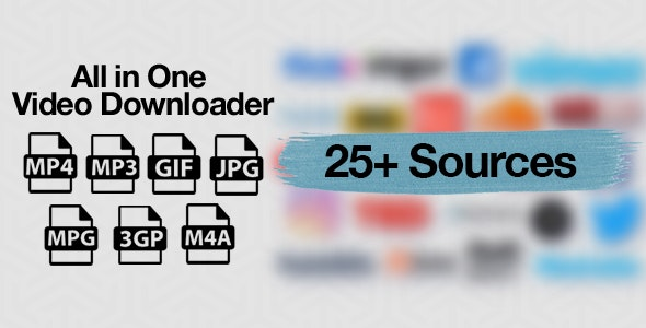 All in One Video Downloader Script 1.8.0 Nulled