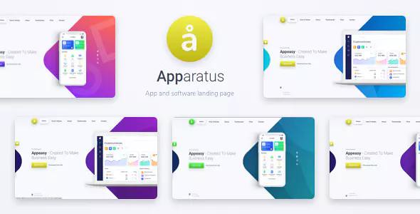 Apparatus 1.3.2 - A Multi-Purpose One-Page Landing Theme