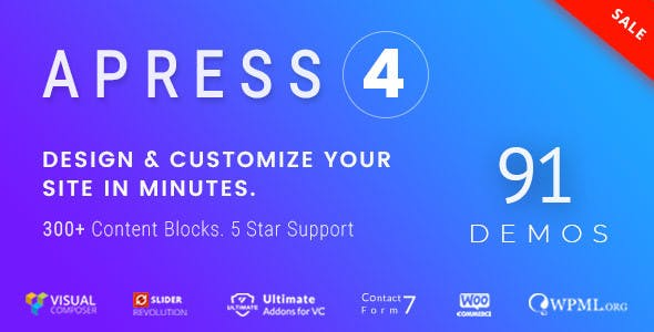 Apress 4.0.2 - Responsive Multi-Purpose Theme