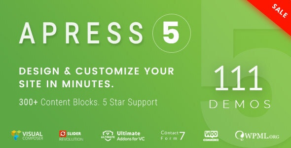 Apress 5.2.2 - Responsive Multi-Purpose Theme