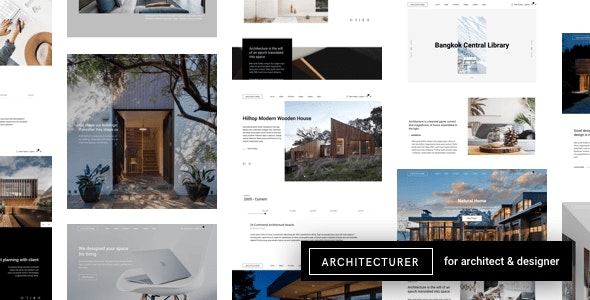 Architecturer v3.1 Nulled - WordPress For Interior Designer