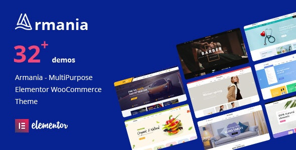 Armania 1.1.1 Nulled - Multipurpose Elementor WooCommerce Theme
