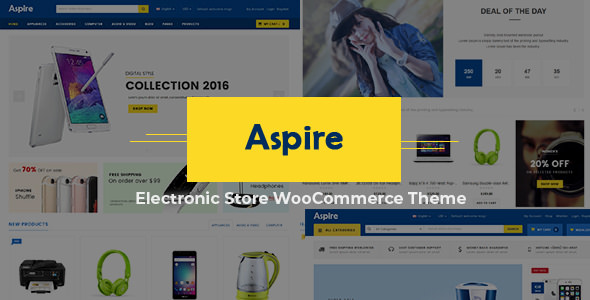 Aspire 3.7 - WooCommerce WordPress Theme