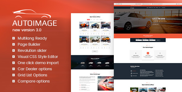 Auto Image 3.5.3 - Automotive Car Dealer