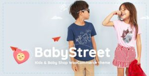 BabyStreet 1.3.5 - WooCommerce Theme for Kids Toys and Baby Shops