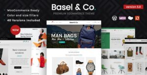 Basel 5.3.0 Nulled - Responsive eCommerce Theme