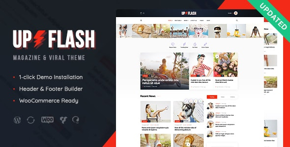 Bazinga 1.1.1 - Modern Magazine & Viral Blog WordPress Theme