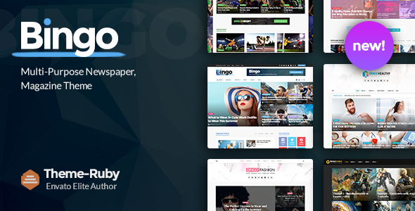 Bingo 2.7 - Multi-Purpose Newspaper & Magazine WordPress Theme