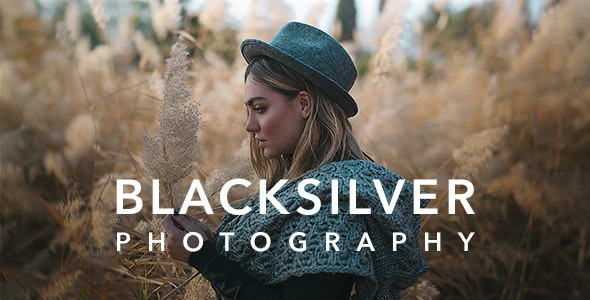 Blacksilver 6.3 - Photography WordPress Theme