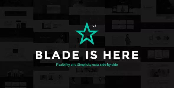 Blade 3.2.2 - Responsive Multi-Functional WordPress Theme
