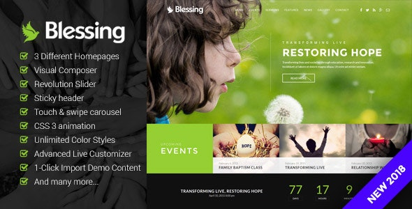 Blessing 1.6.1.2 - Responsive WordPress Theme