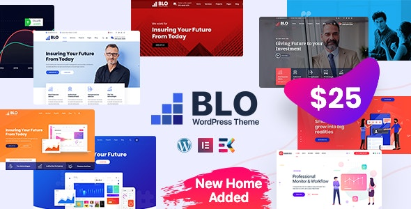 BLO 2.4 - Corporate Business WordPress Theme
