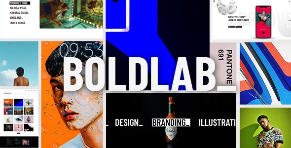 Boldlab 2.1 - Creative Agency WordPress Theme