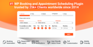 Bookly Pro (Add-on) 2.9 Nulled / Bookly 18.6 - Appointment Booking and Scheduling