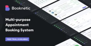 Booknetic 1.9.5 Nulled - WordPress Appointment Booking and Scheduling