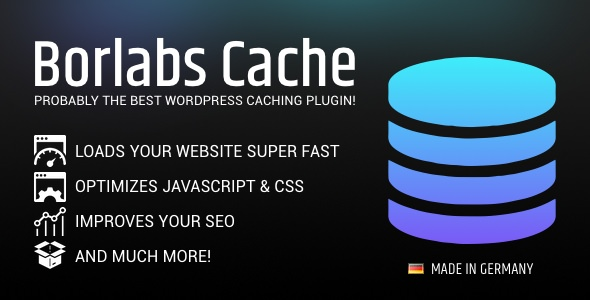Borlabs Cache 1.6.1 Nulled - WordPress Caching Plugin