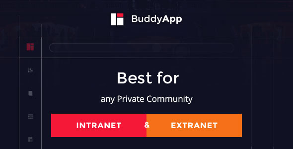 BuddyApp 1.8.4 - Mobile First Community WordPress Theme