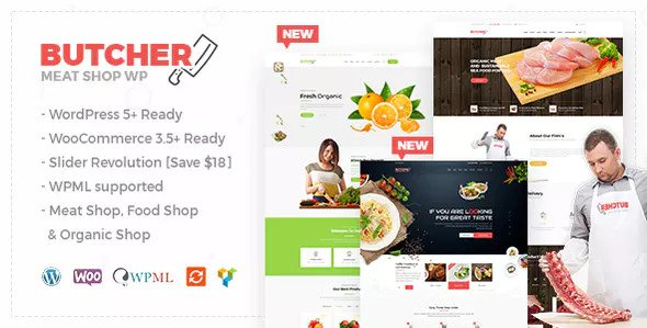 Butcher 2.9 - Meat, Organic Shop Woocommerce WordPress Theme