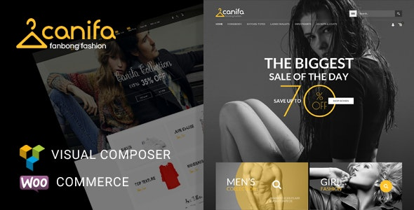 Canifa 2.6 - Fashion Responsive WooCommerce WordPress Theme
