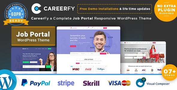 Careerfy 2.5.6 - Job Board WordPress Theme