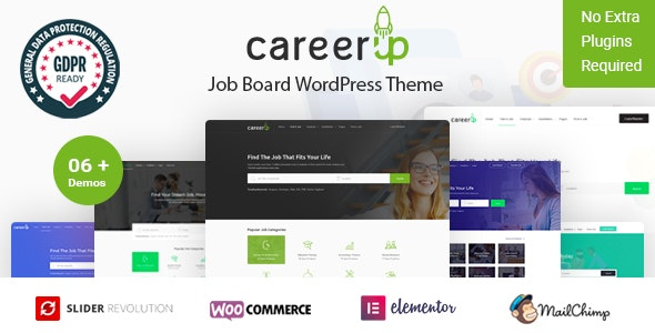 CareerUp 2.3.6 - Job Board WordPress Theme