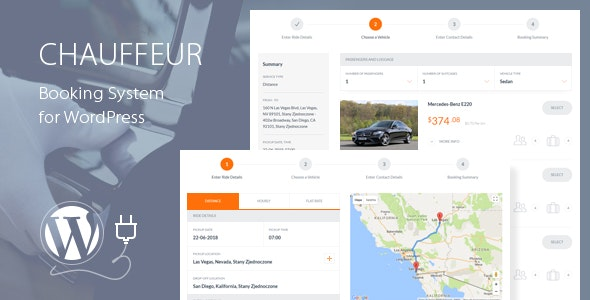 Chauffeur Booking System for WordPress 5.3