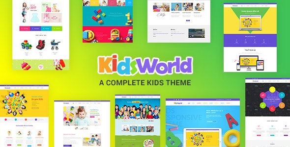 Kids Heaven 2.1 - Children WordPress Theme