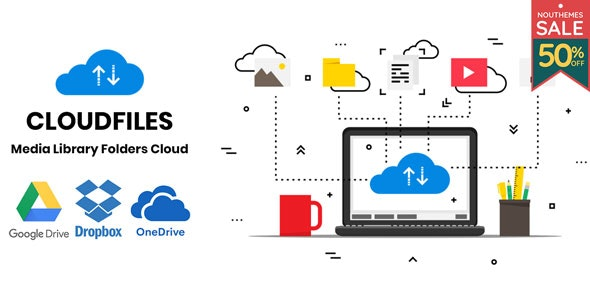 Cloudfiles 1.0.2 - WordPress Media Library Folders Cloud