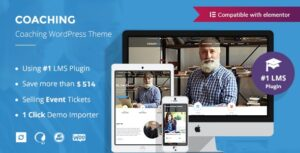Colead 3.3.2 Nulled - Coaching & Online Courses WordPress Theme