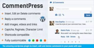 Comment Press 2.7.0 - Comment System Plugin for WordPress & Ajax Comments