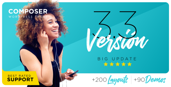 Composer 3.3.5 - Responsive Multi-Purpose High-Performance WordPress Theme