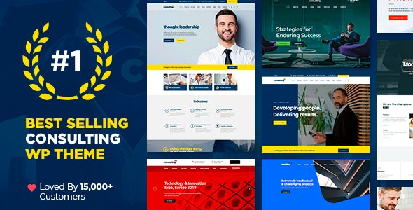 Consulting 5.1.5 Nulled - Business, Finance WordPress Theme