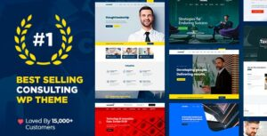 Consulting 5.1.4 Nulled - Business, Finance WordPress Theme