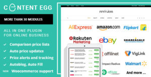 Content Egg 5.4.0 (Nulled) - All In One Plugin For Affiliate
