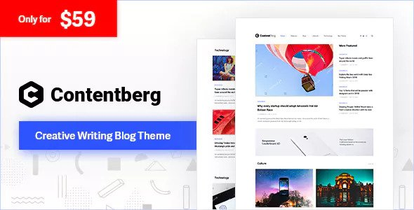 Contentberg 1.6.1 - Content Marketing & Personal Blog