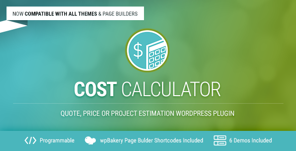 Cost Calculator 2.2.5 - WordPress Plugin