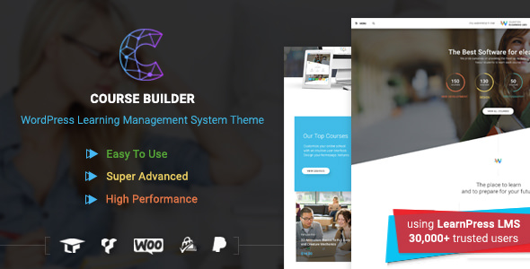 Course Builder 2.3.8 - Theme for Online Courses, Schools & Education
