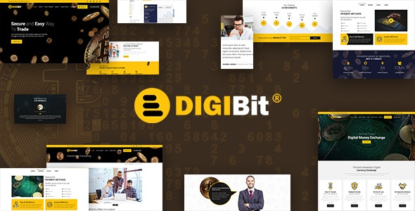 DigiBit 1.7 - Bitcoin Trading Theme
