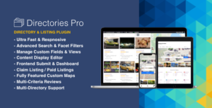 Directories Pro plugin for WordPress 1.3.29 Nulled - Free Download