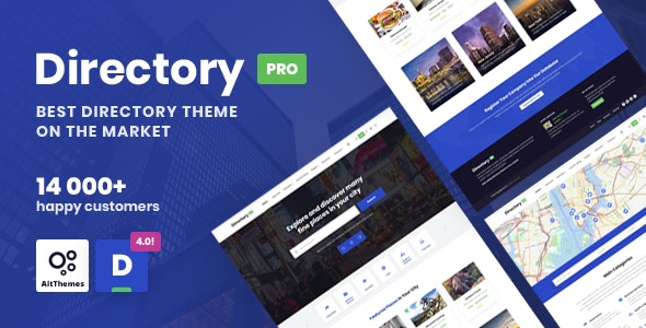 DirectoryPRO 4.0.3 - WordPress Directory Theme