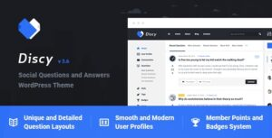 Discy 4.2.2 Nulled - Social Questions and Answers WordPress Theme