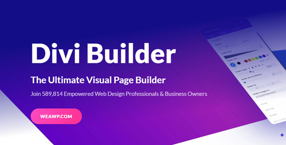 Divi Builder 4.6.5 - Visual Page Builder WordPress Plugin