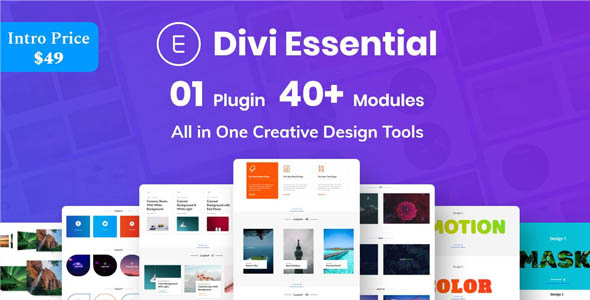 Divi Essential v2.0.2 - Divi Extension For Next Label Modules