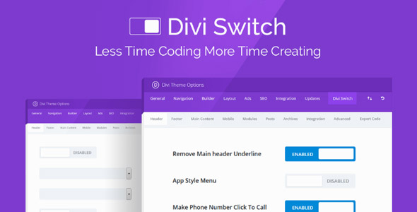 Divi Switch Pro 3.1.0 (Nulled) - Fully Customize Your Divi Website